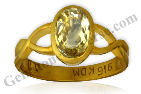 Use of Yellow Sapphire Gem for Good Luck