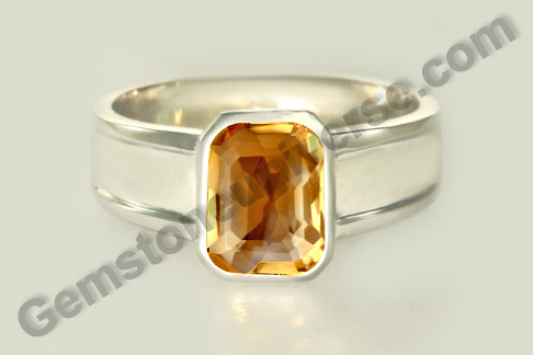Imperial Golden Yellow Topaz of 3.71 carats for Jupiter Vedic Energies