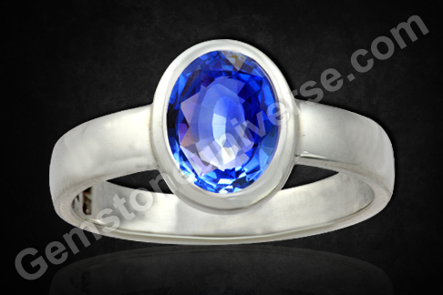 Rich, Exotic and Luxe – Kashmir Cornflower Blue Sapphire Ring