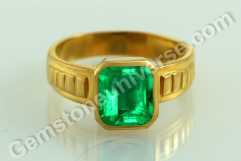 Natural Emerald Rings Gem of Mercury