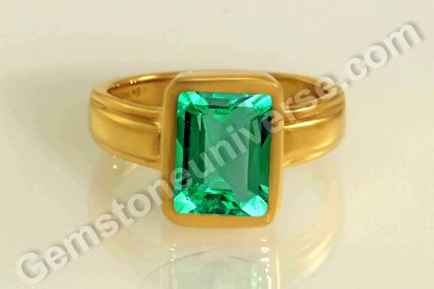 Natural Emerald Astrology Emerald Rings & Pendants