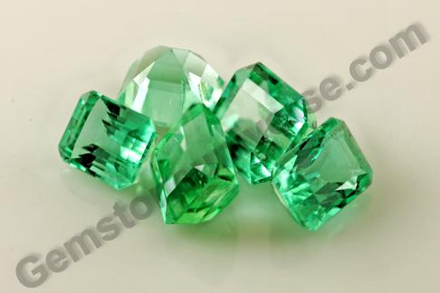 Super Premium Colombian Emeralds from Lot Venus