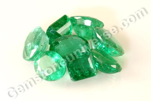 MATANG 2013 - Natural Zambian Emeralds