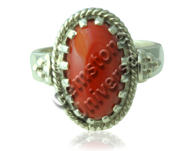 Natural-Red-Coral-ring