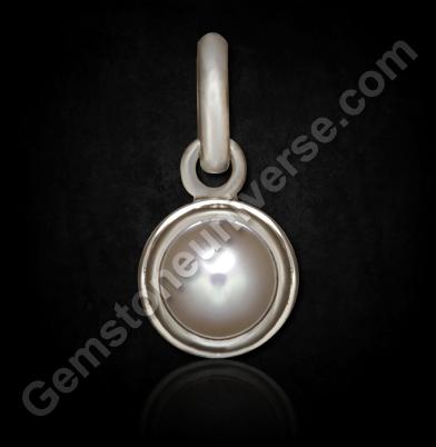 Natural Australian Pearl silver pendant
