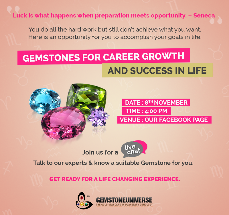 Gemstones for career growth
